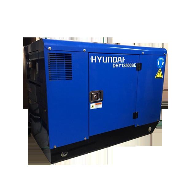 Máy phát điện 10kw chạy dầu 1pha. DHY12500SE
