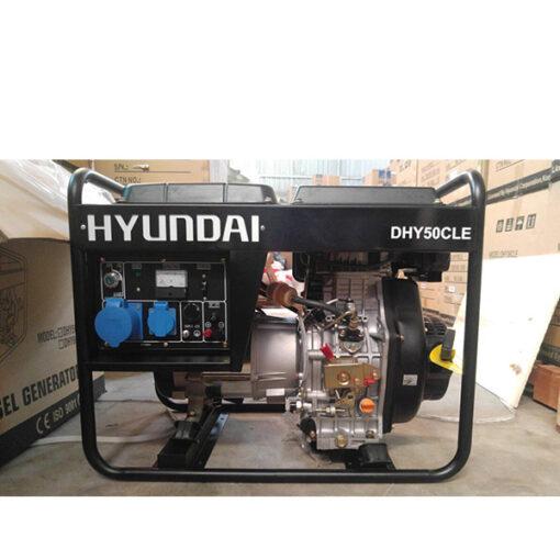 Máy phát điện chạy dầu 4kw. DHY-50CLE 1