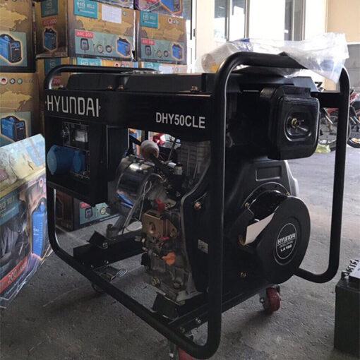 Máy phát điện chạy dầu 4kw. DHY-50CLE 3