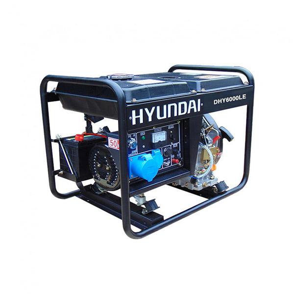 Máy phát điện chạy dầu 5kw. DHY6000LE P