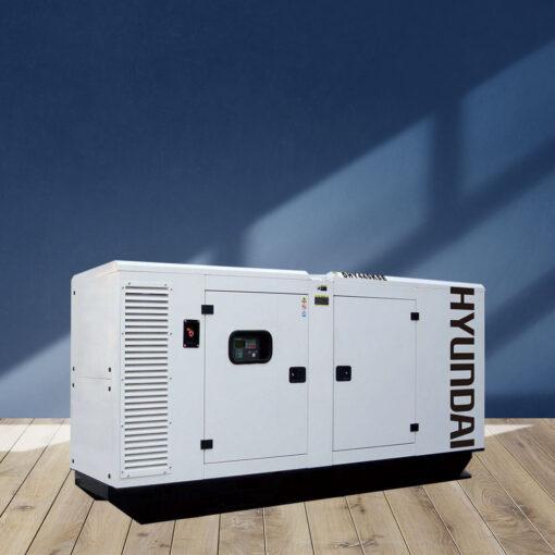 Máy phát điện 400KVA/320KW 3 pha. Hyundai DHY440KSE