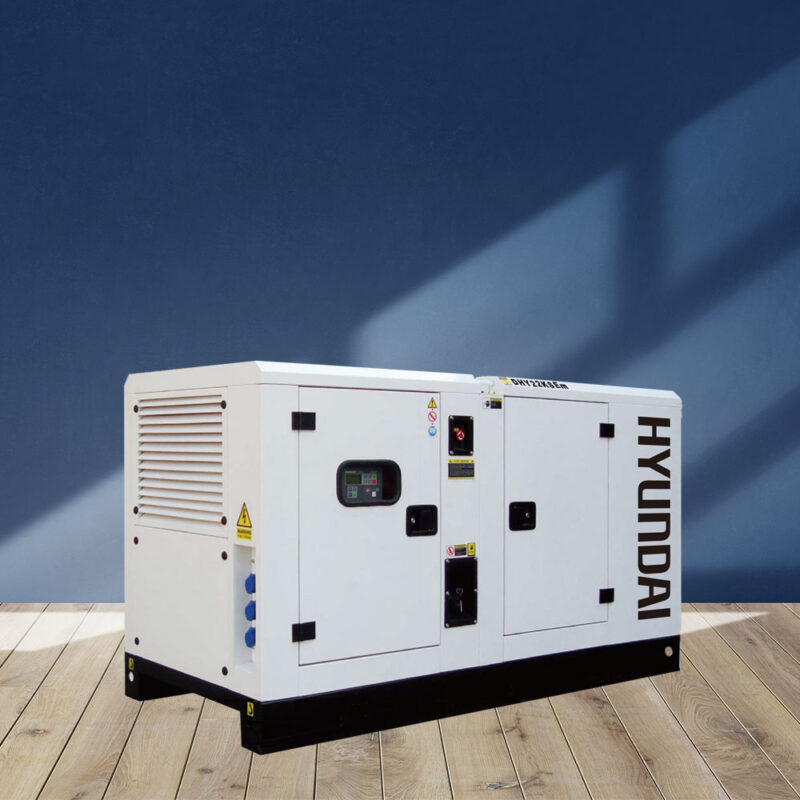 Máy phát điện 20kw/20kva 1 pha. Hyundai DHY22KSEm