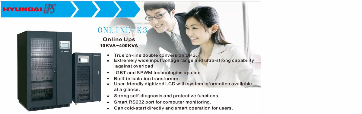 UPS online 3 pha Hyundai
