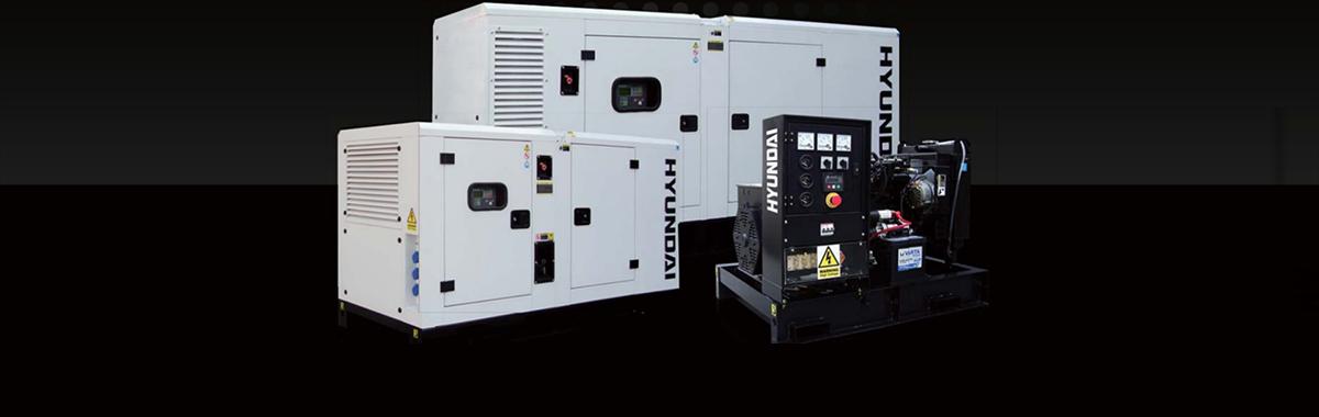 Máy phát điện công nghiệp Hyundai