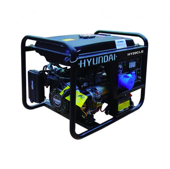 Máy phát điện hyundai HY-20CLE chạy xăng đề nổ